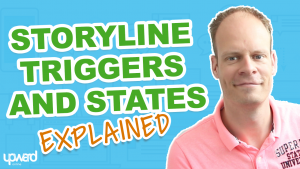 Articulate Storyline Triggers an states