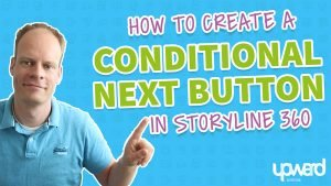 How to create a conditional next button in Storyline 360