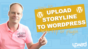 Storyline to wordpress