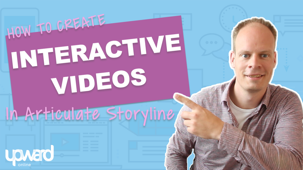 Interactive video articulate storyline