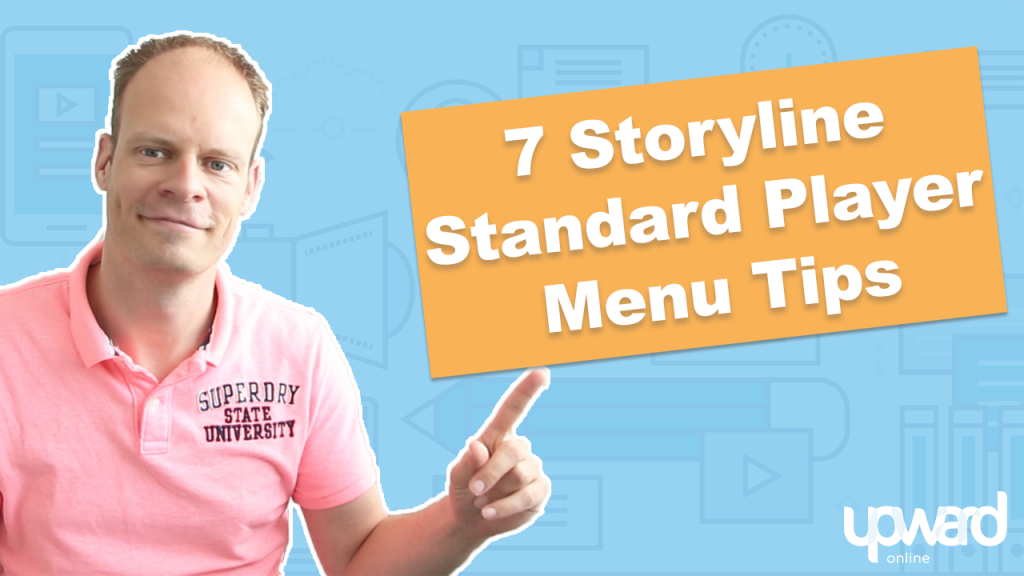Menu player Articulate Storyline