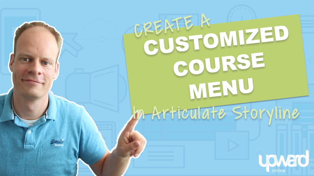 custom course menu articulate