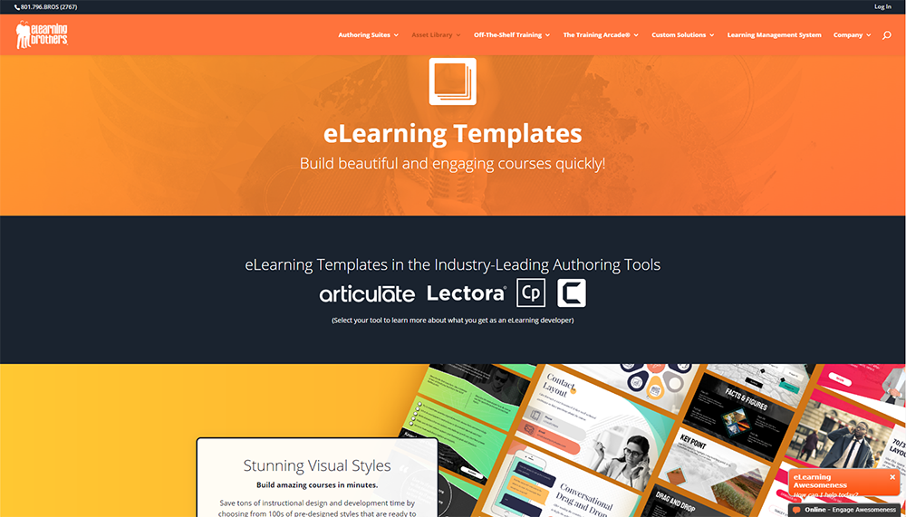 Elearning Brothers Elearning templates