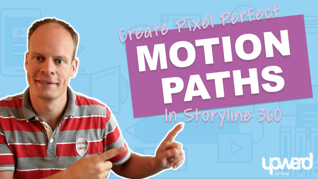 Motion Paths Articulate Storyline
