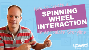 Spinning wheel interaction articuate storyline
