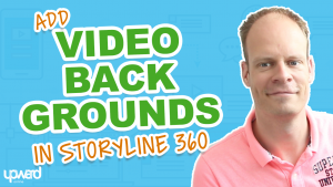 Video background Articulate Storyline