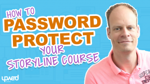 Pasword protected Storyline