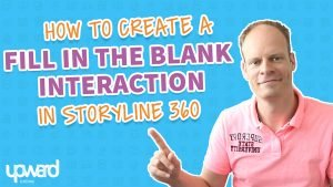 Fill in the blanks Articulate Storyline